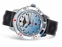 WATCH Men's VOSTOK KOMANDIRSKIE # 431290 MILITARY NEW RUSSIAN