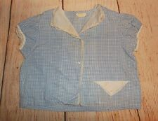 "Vintage Large Baby doll or Baby Vintage gingham tagged ""Better infants wear"""