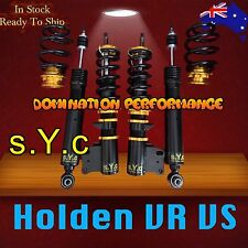 Holden Commodore VR VS Sedan Coilover Kit - SYC Fully Adjustable Suspensions