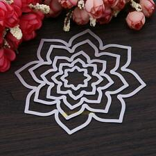 Big Flower Metal Cutting Dies Stencil DIY Scrapbooking Embossing Paper Craft