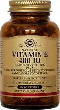 Solgar Vitamin E 400 IU 50 Softgels 400 IU