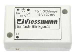 Viessmann 5035 N Einfach-Blinkelektronik mit blauer Glühlampe