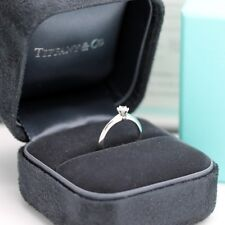 Tiffany & Co. Verlobungsring Platin 950-Gr.49 - Box & Zertifikat 0,21 ct - VVS1