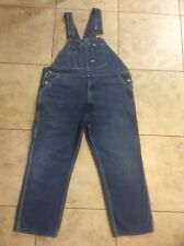 BIG SMITH Denim Blue Jean BIB OVERALLS ~ Mens 44 x 28 (tag 44x30)