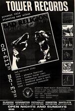 """10/7/93PGN55 BAD RELIGION : RECIPE FOR HATE ALBUM ADVERT 15X11"""" FRAMED"""