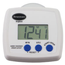BRANNAN WATER RESISTANT TIMER SHOWER BATHROOM KITCHEN COOKING BAKING - 28/215/0