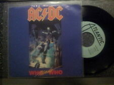 AC/DC - Who made who 7'' US Single MIT COVER PROMO