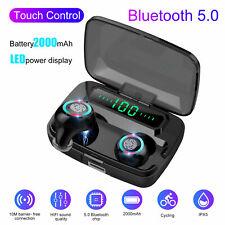 Bluetooth 5.0 Headset Tws Wireless Mini Earphones In-Ear Earbud Stereo Headphone