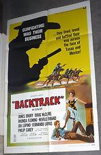BACKTRACK/LAREDO poster WILLIAM SMITH/DOUG MCCLURE/NEVILLE BRAND orig one sheet