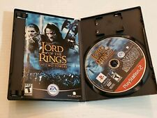 PS2 Lord Of The Rings Twin Towers Video Game Disc Case