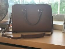 Tan Zara Office City Bag - BLOGGERS FAVE - SOLD OUT - BRAND NEW