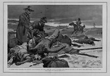 INDIAN FIGHT WOUNDED KNEE MILITARY GUARD DISCOVER BODY BIG FOOT'S MEDICINE MAN