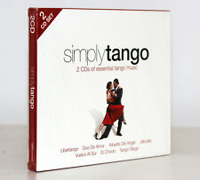 SIMPLY TANGO [2 CD'S OF ESSENTIAL TANGO MUSIC] [SLIP-CASE] FUORI CATALOGO