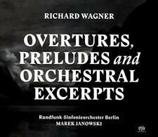 Wagner: Overtures, Preludes And Orchestral Excerpts - Rundfunk-Sinfoni (NEW 2CD)