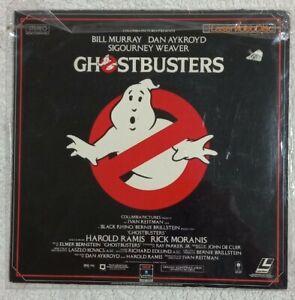 GHOSTBUSTERS - Laserdisc, Dan Ackroyd, Bill Murray, Harold Ramis, Rick Moranis