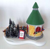 Lemax Tree Lot 1992 Porcelain Village Vintage Christmas Display Original Box