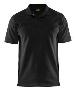 Blakläder Polo Shirt schwarz M-XXL