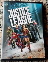 JUSTICE LEAGUE Genuine USA DVD DC Ben Affleck Henry Cavill Jason Momoa Gal Gadot