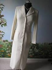 Kasper Vanilla Long Women Long Sleeve Evening Dress Coat Size 4 New
