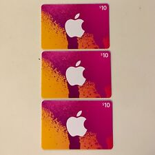 iTunes Gift Cards $30 USD