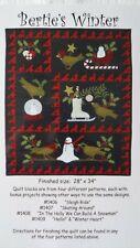 Rinske Stevens Design Bertie's Winter Quilt Kit - Cotton Flannel Fabric RRP £130