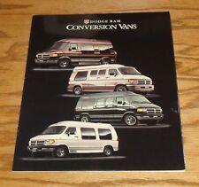 Original 1995 Dodge Ram Conversion Van Sales Brochure 95