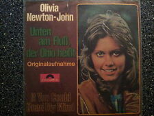 Olivia Newton-John - Unten am Fluss, der Ohio heisst 7'' Single SUNG IN GERMAN