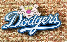 LOS ANGELES DODGERS PINK PANTHER Lapel Pin