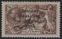 Ireland 1922 SG17 2s6d Sepia-Brown Seahorse High Value MH OG CV £60+