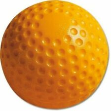 Yellow Dimpled Baseballs One Dozen Jugs Training Ball Pitching Machine 9 Inches