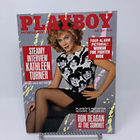Playboy Magazine May 1986 Kathleen Turner Interview, Woman Fire Fighter