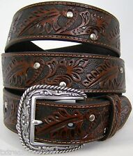 ARIAT belts men's western casual dress accessories BROWN LEATHER BELT 44 NWT!