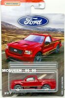 2019 MATCHBOX FORD TRUCK SERIES FORD F-150 LIGHTNING RED