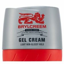 New BRYLCREEM GEL CREAM - LIGHT NON-GLOSSY HOLD MENS HAIR STYLING 150ML NEW
