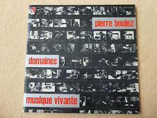 Boulez - Domaines - Musique Vivante - D.Masson - BASF Stereo (01337)