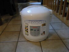 AROMA RICE COOKER & FOOD STEAMER-ELECTRONIC PROGRAMMABLE-NEW-10 CUP