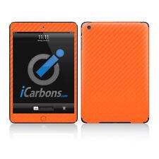 iPad Mini Skin - Orange Carbon Fibre skin by iCarbons