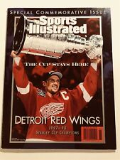 1997 98 Sports Illustrated Commemorative DETROIT Red Wings STANLEY CUP Yzerman