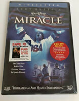 Miracle DVD Widescreen 2 Disc DVD Set With Interviews! Brand NEW Factory Sealed!