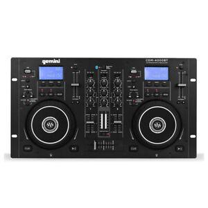 Gemini Sound CDM-4000BT Dual CD Player Bluetooth Disco DJ Sound System *B-Stock