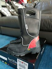 NEW! Fire-Dex FDXL-100 Leather Firefighter Boots  Size 9M