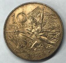 10 Francs Francois Rude 1984 Monnaie Française Commémorative TTB MINIMUM