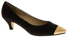 Women's Kitten Heel Suede Shoes