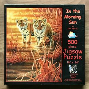 SunsOut IN THE MORNING SUN 500 Pieces Jigsaw Puzzle