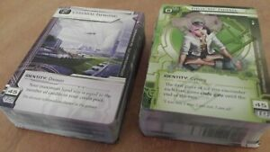 CREATION AND CONTROL Deluxe Expansion for Android Netrunner - Cards Only, NM/M!