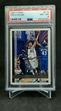 Tim Duncan 1998 Topps Rookie Card #115 PSA 8 Comp To BGS SGC
