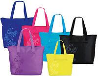 Badetasche Shopper Freizeittasche gelb rot lila schwarz blau 150 Fabrizio