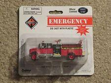 Boley Die-Cast Emergency International Pumper Fire Truck #4010-13 1:87 MOC 2002