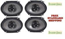 "(2) PAIRS Pioneer TS-G6844R 1000W 6""x 8"" 4-Ohm 2-Way Car Audio Speakers TSG6844R"