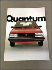 1982 Volkswagen Vw Quantum 20 Page Original Sales Brochure Catalog